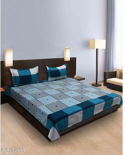 Trendy Fancy Bedsheet - 88 Inch x 86 Inch