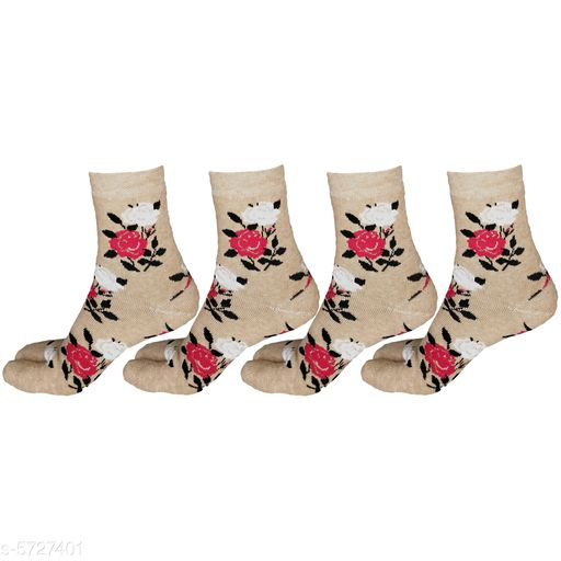 Stylish Wool Women's Socks