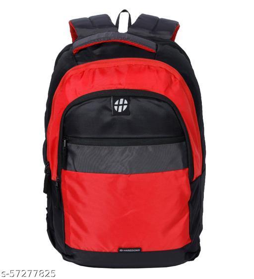 BRYANT  Black Grey Red Backpack