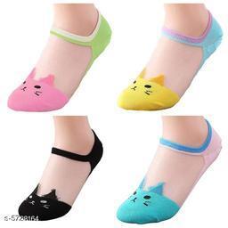 Attractive Women's Multipack Multicolor Socks