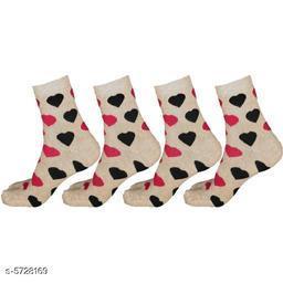 Modern Women Socks Combo(Pack Of 4 )