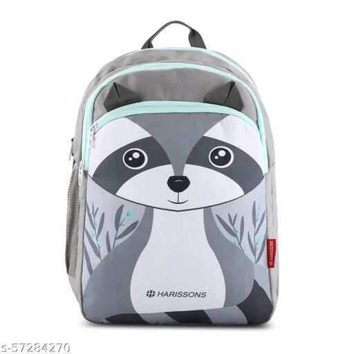 RACOON (P) Grey Mint Backpacks