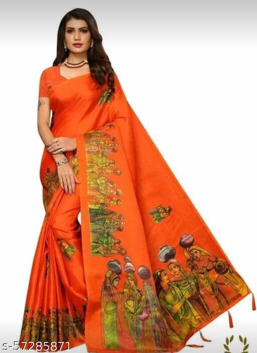 Polycotton saree for working women (daily wear)