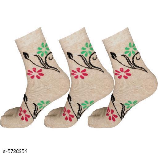 Attractive Wool Women's Socks Combo