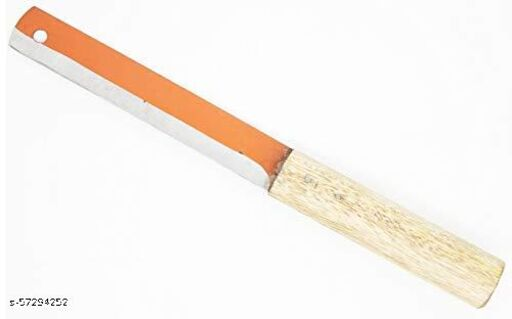 Steel Knife, Kitchen Knife with Wooden Handle, 10.5 Inch