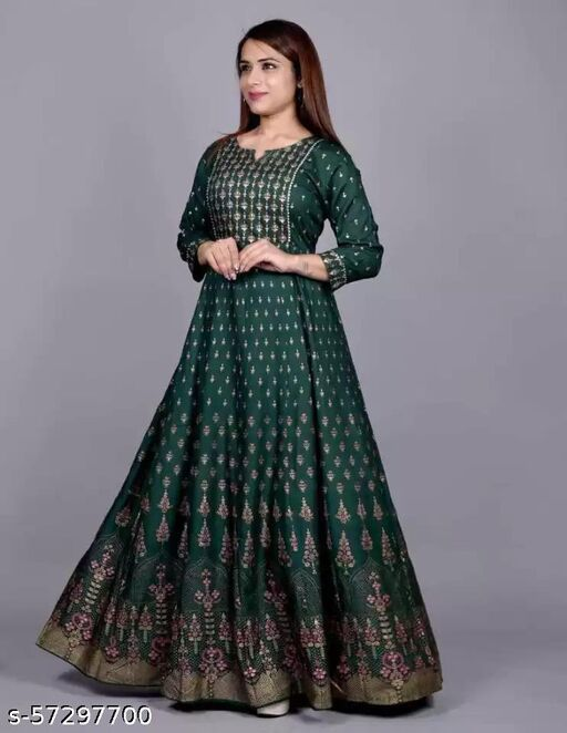 Diwali Special Full Length Party Wear Beautiful Gowns