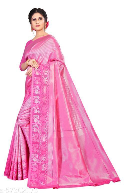 Owexone Women's Soft Silk weaving with beautiful self design weaving.=D_164