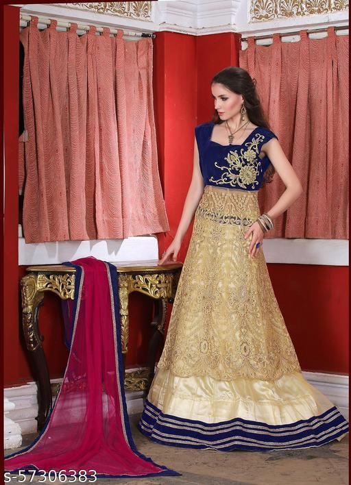 Aarnas Designer Party wear Koti Style Lehenga Choli Set with Dupatta