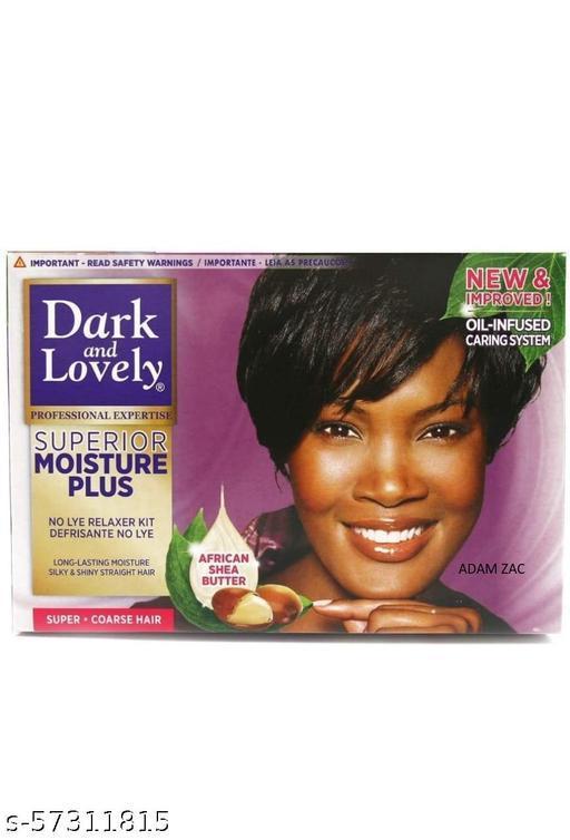 Dark & Lovely Superior Moisture Plus Hair Straightening Cream Relaxer #Imported (100g)  Country Of Origin /  South Africa