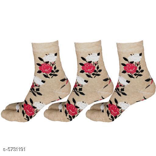 Casual Modern Women Socks Combo (pack of 3)