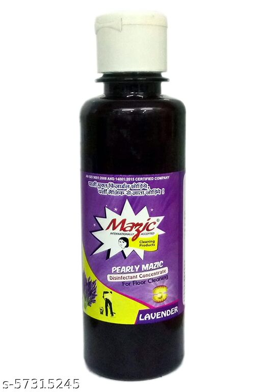 Mazic Phenyl Concentrate Advanced Disinfectant and Washroom Floor Stain Remover with Air Freshening Formula Pack of 3 (Lavender Flavour) Floor Cleaner