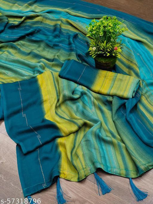stunning milkyway inspired sarees