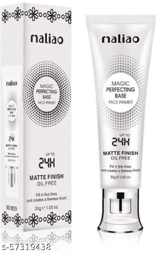 Maliao Magic Perfecting Base Face Primer matte finish Primer - 30 ml  (Black)