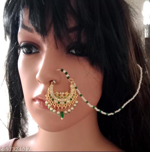 Shimmering Bejeweled Nosepins