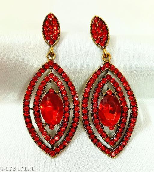 New Fashion Rhinestone Tassel Crystel Earrings Drop & Danglers