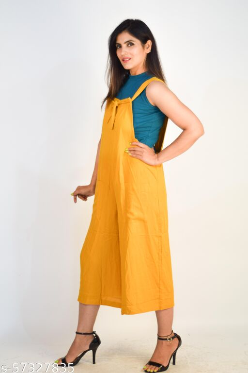 New Latest ladies jump suit dress, rayon jump suit for girls