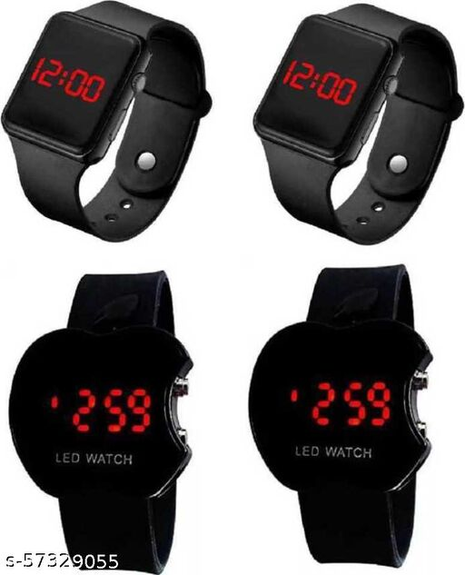 Square LED  Watches