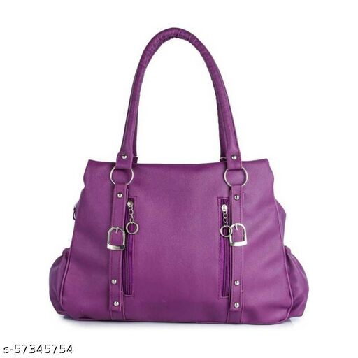 Purple color Trendy and Stylish Handbag for Girls for Teachers / College / Fund / Study / Office use