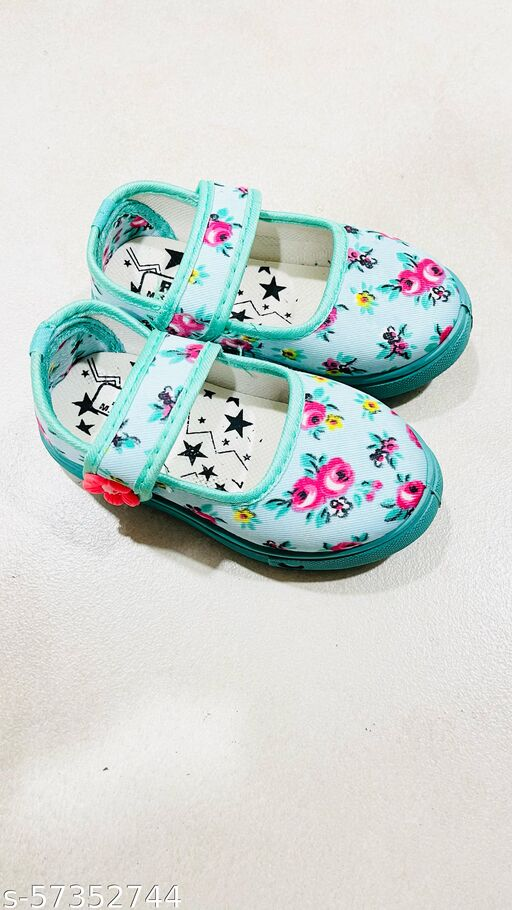 Sparkling flower Coolz Girls Baby Fashion Shoes Bellies 1.5 to 5 years