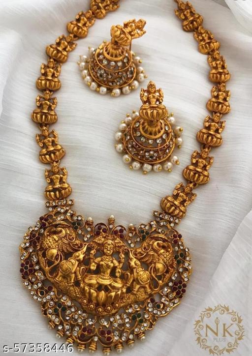 Traditional Bridal Lakshmi Haram