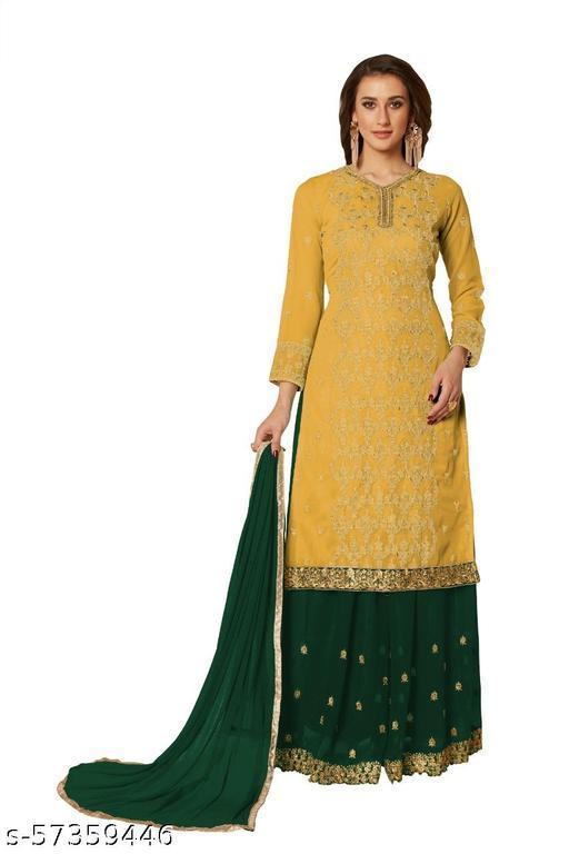 Alisha Drishya Semi-Stitched Suits