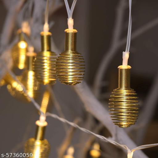 Metal Honey Bee LED String Light