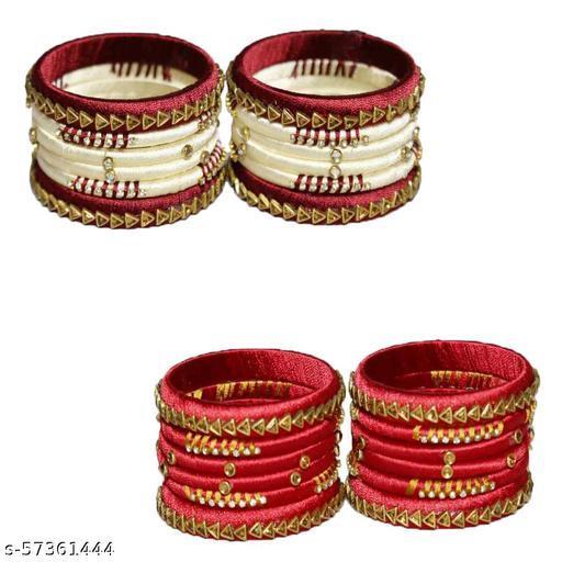 CB Collection Silk Thread Bangles