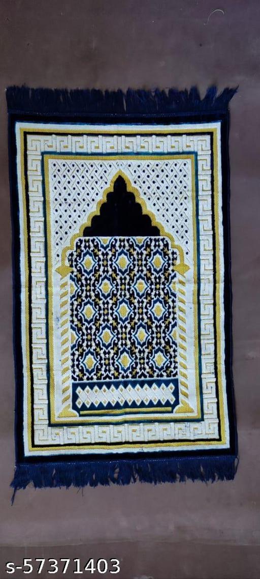 Zanamaz Prayer Mat Islamic Blue White