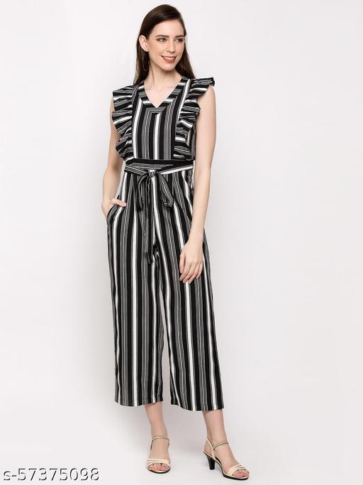 Striped Women Jumpsuit