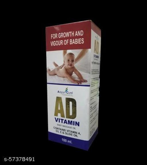 A.D. VITAMIN BABY OIL