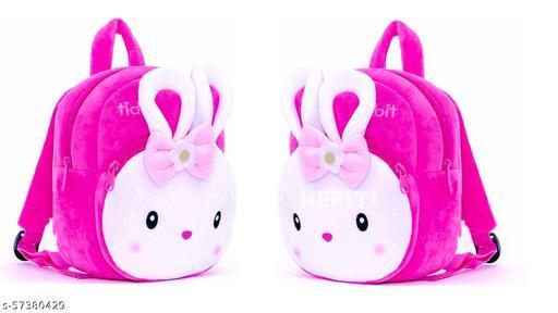 heriti collection- kids first choice 2 pic Combo(KONGGI RABBIT) bagpacks, Kids Bag , Plush Bags , School Bags for Kid Girl/boy. 1to 6 year kids-