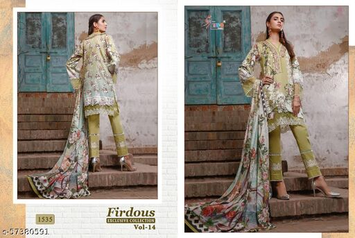 SHREE FABS PATCH WORK PAKISTANI CONCEPT Suits
