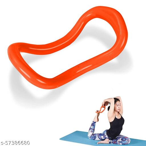 Yoga Ring Yoga Circle Stretch Ring Fascia Massage Workout Pilates Ring Fitness Home Gym Accessories