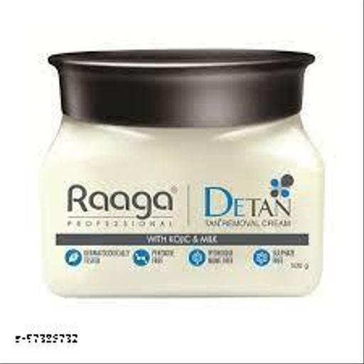 Raaga Professional De Tan Removal Creme With Kojic & Milk 500g Jar