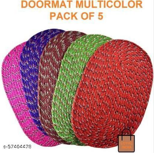 DoorMat  (Multicolor, Medium) COMBO 5pc