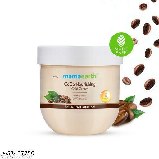 MAMAEARTH CoCo Nourishing Cold Cream With Coffee and Vitamin E For Rich Moisturization - 200 g