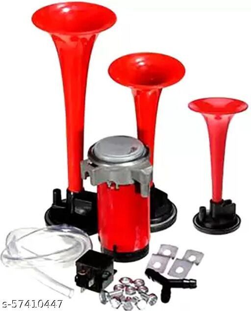 Aksmit 3 Pipe Horn Universal For Car / Bike