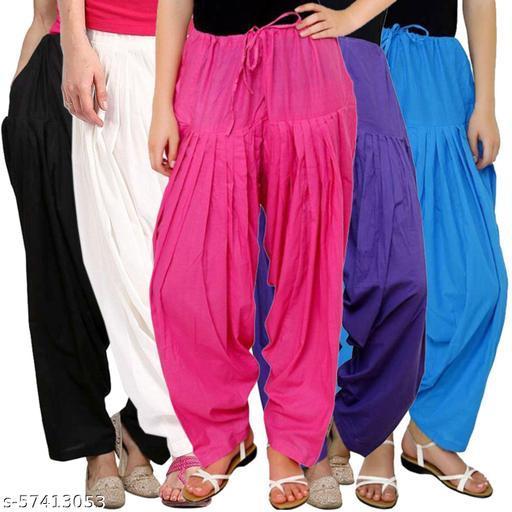 ISKON Cotton Salwar for Women And Girls_Free Size_combo 5