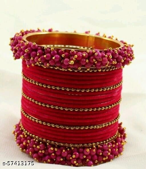 Elite Colorful bracelet and Pearl Bangless