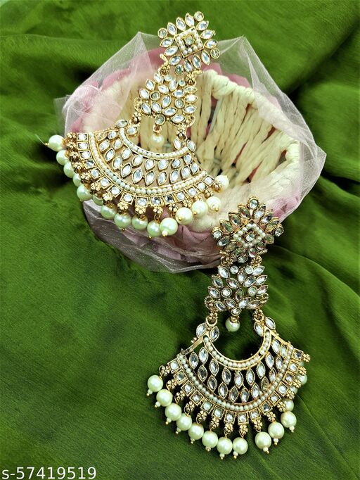 Product Style Name : Antique Afghani oxidized layered Golden Color studded Pearl and Mirror Jhumka Earring   Size : Length : 4 Inches   Width : 2.5 inches   Qty : 1 Box (set of Two Earrings)   Metal: Korean Oxidized   Color: Gold and Silver Mirror   Gross Weight: 60.00 Grams