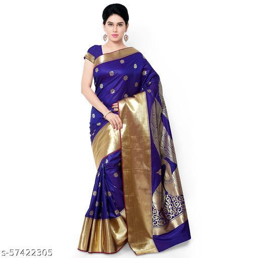 Varkala Mysore Silk Paithani Style Pure Silk Sare