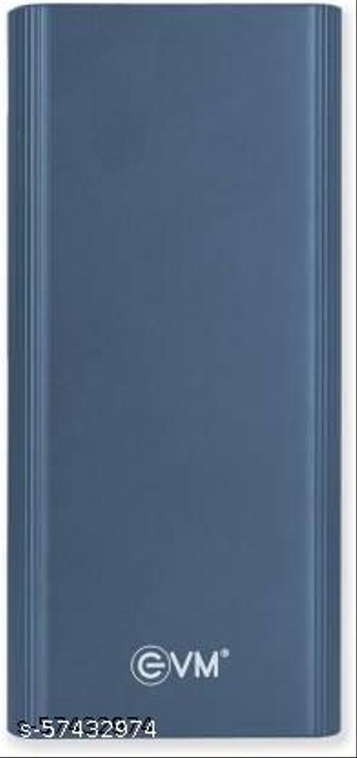 Evm  EnRoute 20000 mAh Power Bank  (Blue, Lithium Polymer)