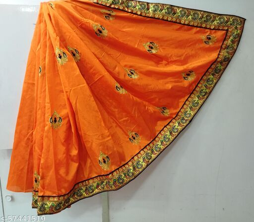 Zoya Silk With Embroidery Work And Jacquard Lace Saree