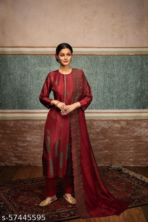 Alisha Graceful Semi-Stitched Suits