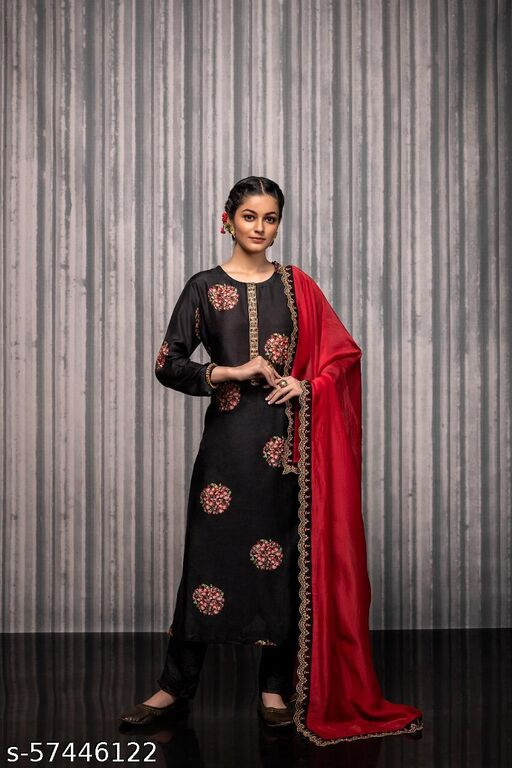 Aakarsha Attractive Semi-Stitched Suits