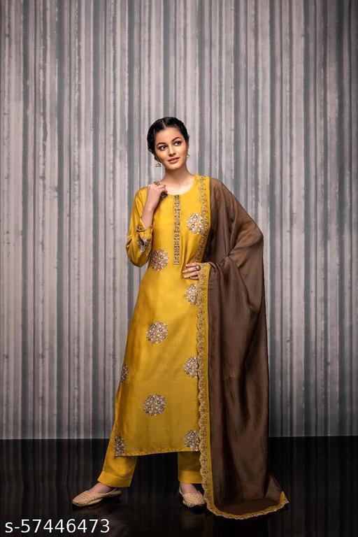 Aakarsha Fabulous Semi-Stitched Suits