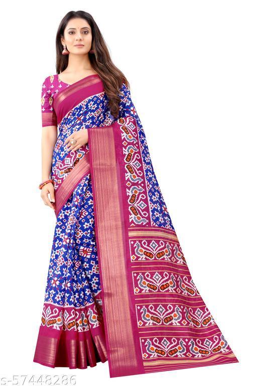 Women's ikkat sarees