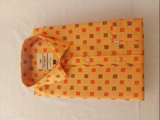 Men's formal premium  printed shirt