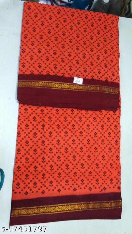 Madurai Maruthi OSP Sungudi Sarees - 10 Yards Sungudi Madisar Saree with Running Blouse - 13