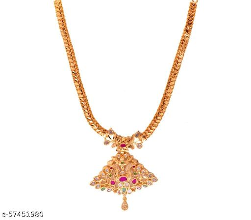 Gold Plated Necklace for Women and Girls